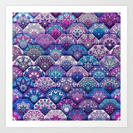 Bohemian Quilt Art Print