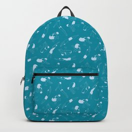 On Your Marks - Teal Backpack