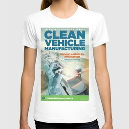 US Department of Energy LPO Poster - Clean Vehicle Manufacturing (2016) T-shirt
