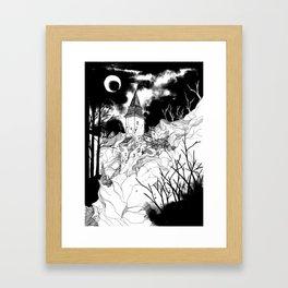 Transylvania Castle Framed Art Print