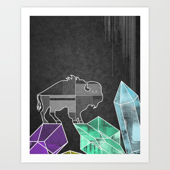 BUFF Art Print