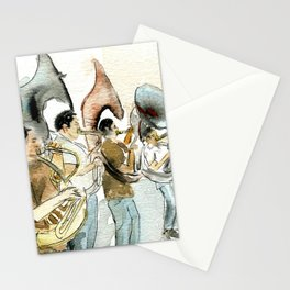 Sousaphone band Stationery Cards