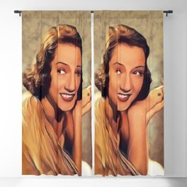 Ethel Merman, Vintage Actress Blackout Curtain
