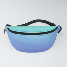 Peacock Gradient Fanny Pack