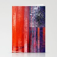 flag Stationery Cards featuring Flag by DAVID BIRKBECK