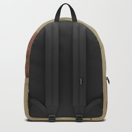 Peacock Sketch Backpack By Cloudmuseum Society6