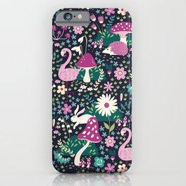 Wandering in Wonderland iPhone Case