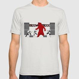 Growly Bear Metal T-shirt