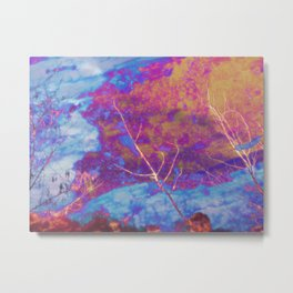 Corroded Sky Metal Print
