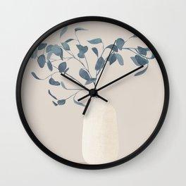 Eucaliptus II Wall Clock