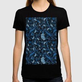Mermaid Toile - Blue T-shirt