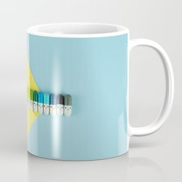 Happy little rainbow pills Coffee Mug
