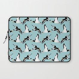 Seabirds in flight Laptop Sleeve