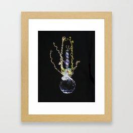 Mustard Vine Framed Art Print
