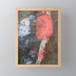 Rusty art rose Framed Mini Art Print