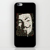 vendetta iPhone & iPod Skins featuring Vendetta 1.0 by Sberla