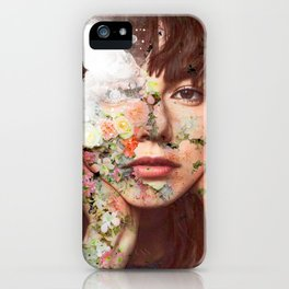 Flowered skin ll iPhone Case