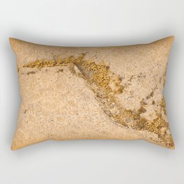 Vintage Moss Flourishes Rectangular Pillow