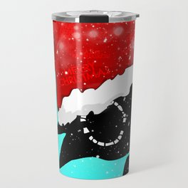 Santa Bloop Travel Mug