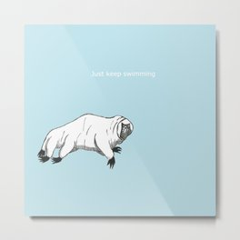 The majestic water bear Metal Print