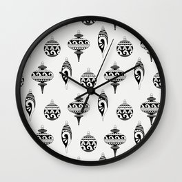 Islander Ornaments Wall Clock