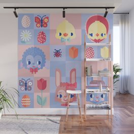 Happy Easter! Pattern Wall Mural