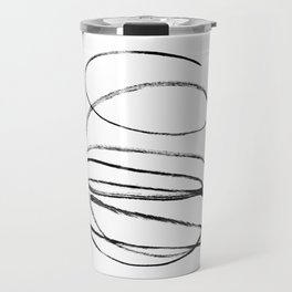 My mind is a mess. Travel Mug