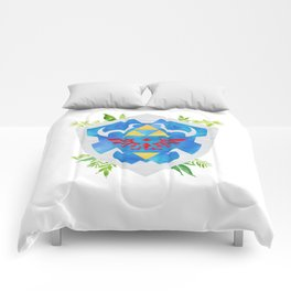 One Shield to Hyrule Them All Comforters