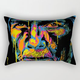 Retrowoman Rectangular Pillow