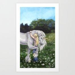 Finding Innocence Art Print