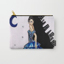 MIDNIGHT IN MANHATTAN FASHION ILLUSTRATION BY JAMES THOMAS RYAN Carry-All Pouch