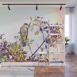 Mississippi Kite in Tree Wall Mural