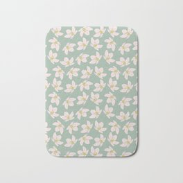 Apple Blossoms on a Breeze Bath Mat