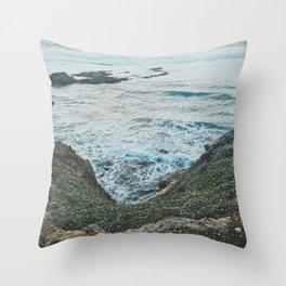 California Coastal Throw Pillow