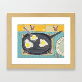 Oeufs Framed Art Print