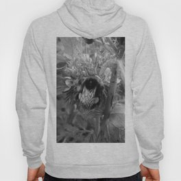 Bee Friends #2 (Black and White) Hoody