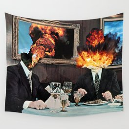 Every Act of Creation is First an Act of Destruction Wall Tapestry