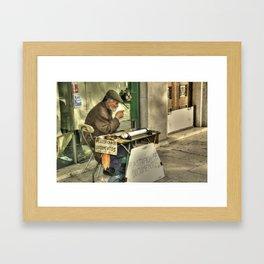 Documentos  Framed Art Print