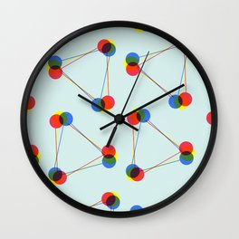 Connect the dots Wall Clock