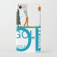 golf iPhone & iPod Cases featuring Golf, golf, golf! by South43