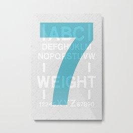 Apt 7 Metal Print