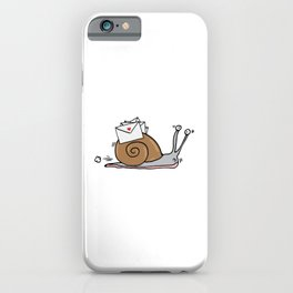 Snail Mail iPhone Case