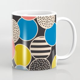 Memphis Inspired Pattern 6 Coffee Mug
