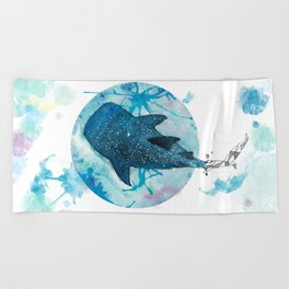 Whaleshark Beach Towel