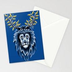 Deer Lion Stationery Cards