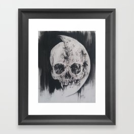 For Us And The Moon Framed Art Print