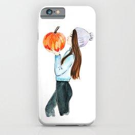 pumpkin spice everything iPhone Case