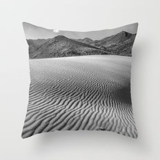 Windy traces. Past dreams Throw Pillow