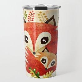 Fox Mom & Pup Travel Mug