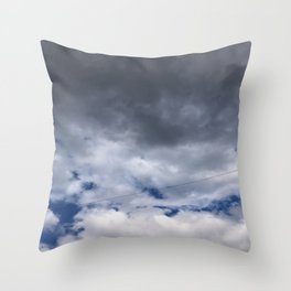 Everyday Blue Sky Throw Pillow